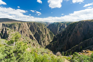 Black Canyon of the Gunnison Landscape