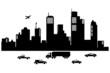 Silhouette  of  cities