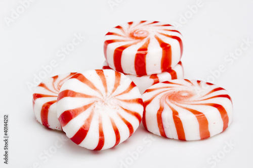 Aluminium Snoepjes Red Striped Peppermints