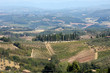 Hills around San Gimignano. Tuscany