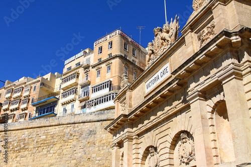 The Victoria gate, one of the entrances to Valletta