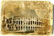 Fototapeten,amphitheater,uralt,wölben,architektur
