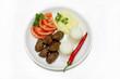 kofte kebab plate