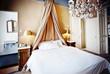 luxury hotel bed
