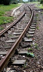 Rail Road Horizon Bound