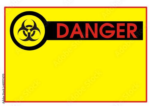 Danger - Gefahr Radioaktivität