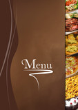 menu restaurant simple