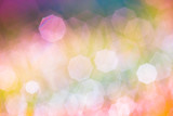 pastel colored spring real bokeh lights effect background