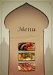 menu restaurant orient