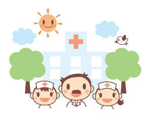 病院 医師 看護士