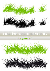 "creative vector elements ""grass"""