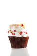 cupcake isolated in white background