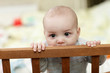 Baby biting cot