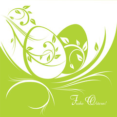 Decorative Ostern Greeting card.eps