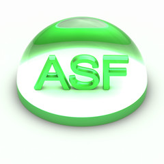 3D Style file format icon - ASF
