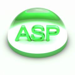 3D Style file format icon - ASP