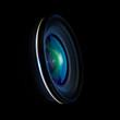 Leinwanddruck Bild - Wide DSLR lens