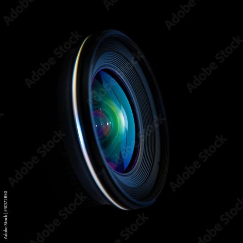 Leinwanddruck Bild Wide DSLR lens