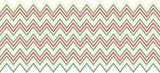 Retro chevron pattern poster