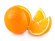 orange with slices