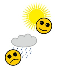 Emoticon meteorologico