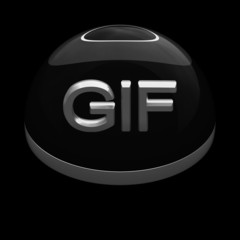 3D Style file format icon - GIF