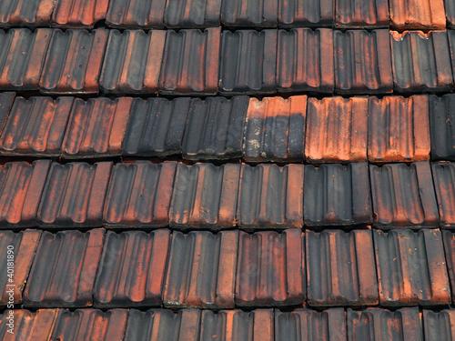 Alte dachziegel