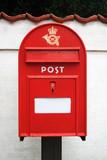 Danish postbox poster