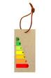 étiquette performance énergétique