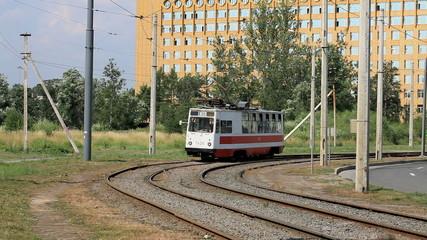 Urban trams in Saint Petersburg