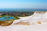 Fototapety Pamukkale, Turkey, top view