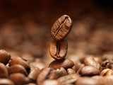 Fototapety Closeup of coffee beans