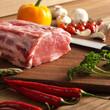 fresh raw steak