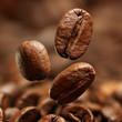 Obrazy drukowane na płótnie, fototapety, zdjęcia, fotoobrazy cyfrowe : Closeup of coffee beans