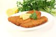 gebratenes Wiener Schnitzel