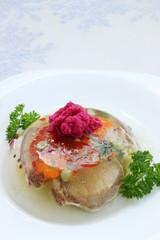 aspic with horseradish
