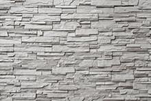 Le mur de pierre grise moderne