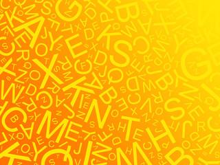 mélange de lettres
