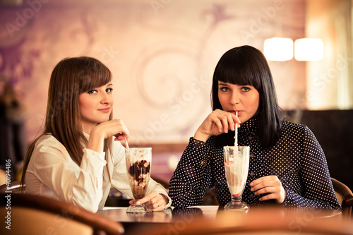 women in caffee