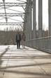 Sur le pont - Paris