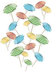 ombrelloni volanti