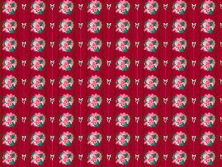 tapisserie fleur bonbons
