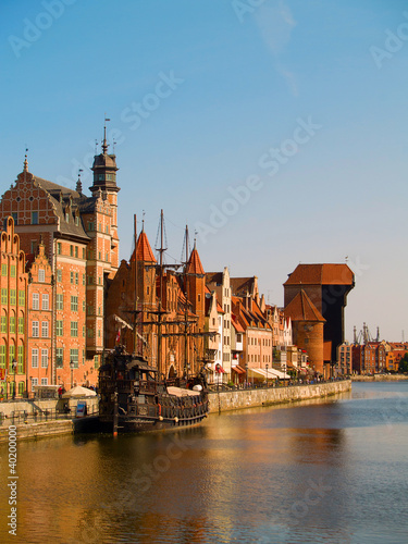 old town, Gdansk, Poland © neirfy