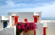 Villas near beach at luxury hotel, Crete, Greece