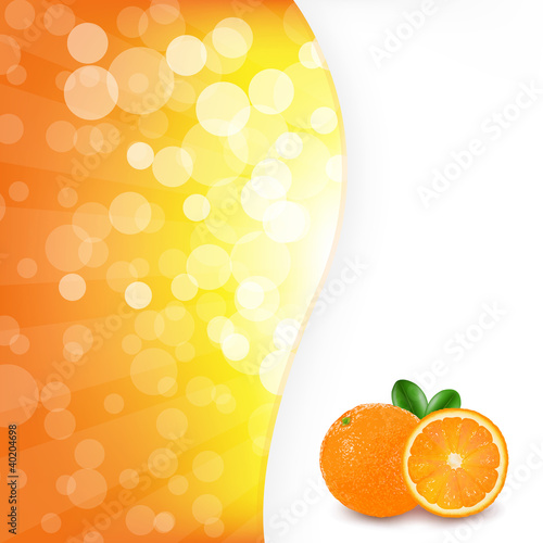 Orange Background With Orange