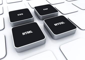 3D Pads Schwarz - HTML CSS PHP MYSQL 8