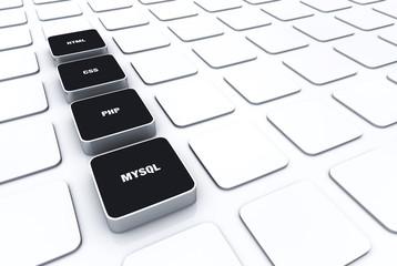 3D Pads Schwarz - HTML CSS PHP MYSQL 6