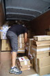 transport logistique - livreur