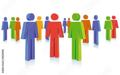 Personen  Gruppe Symbol