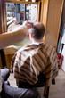 und nun wird weiter Haare geschnitten